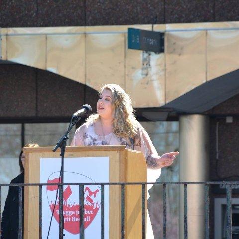 Leder av 8. mars-komiteen, Antoinette Fossdal-Johnsen, forteller at de satser på rundt 250 oppmøtte til Støperiet 8. mars.