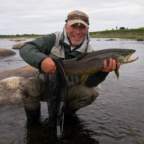 FISKEENTUSIAST: Kai Fjellhegn er glad i å fiske, men lørdagens opplevelse er en han helst vil glemme.