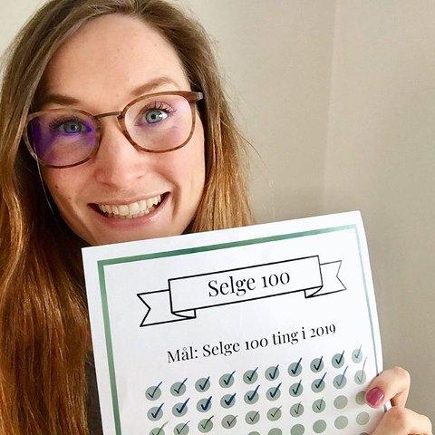 SPAREENTUSIAST: Lise Vermelid Kristoffersen (32) sparer 20.000 kroner i måneden. Nå har hun et mål om å spare enda mer.