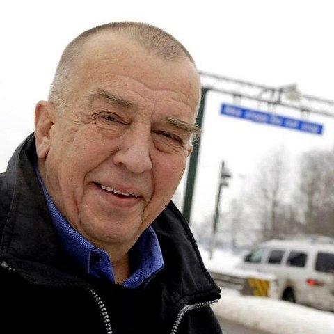 MOTSTANDER: Befolkningen på Nøtterøy og Tjøme betalte over 40 prosent av kostnadene for Frodeåstunnelen, et prosjekt de ikke har hatt noen glede av, hevder Ragnar Torgersen, som var en ihuga motstander av bomringen rundt Tønsberg og senere har engasjert seg sterkt for å få til en veiforbindelse over Vestfjorden.