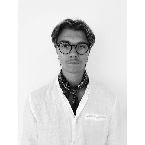 DRØMMESTUDIET: Kaspar Sando (23) er nettopp ferdig med drømmestudiet sitt.