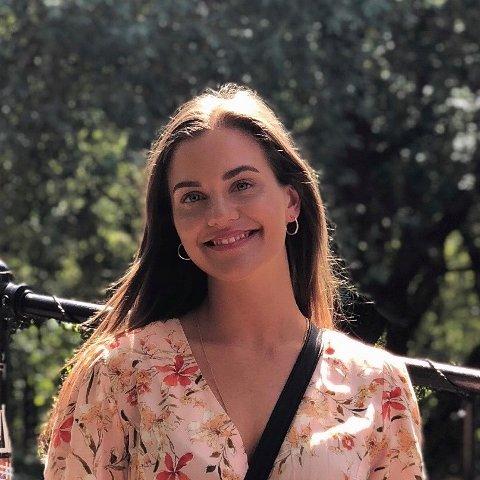 VIL GJØRE RETTSLIG PROSESSER LETTERE: Ingvild Helene Fredriksen vant Emax sin gründerkonkurranse for unge.