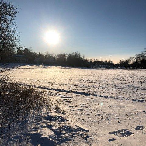 SNØ: Vi har kunnet nyte deilig vintervær den siste uken, men snart er det slutt. I alle fall for en periode.