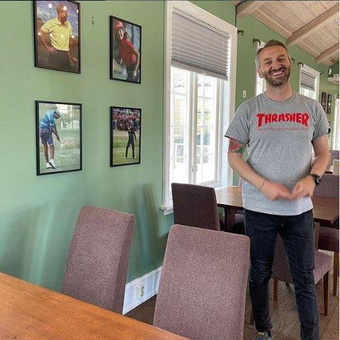 PEGGY MAT OG DRIKKE: Restauranteier Tom Nelvik sier det nye spisestedet har har gått over all forventning.