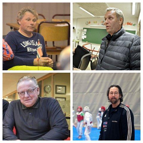 4 AV 38: Hallgeir Martin Lundemo (Meråker), Per Otto Røiseng (Levanger), Normann Ryan jr. (Steinkjer)  og Geir Øien (Inderøy) er alle årets idrettsildsjel i sin kommune.