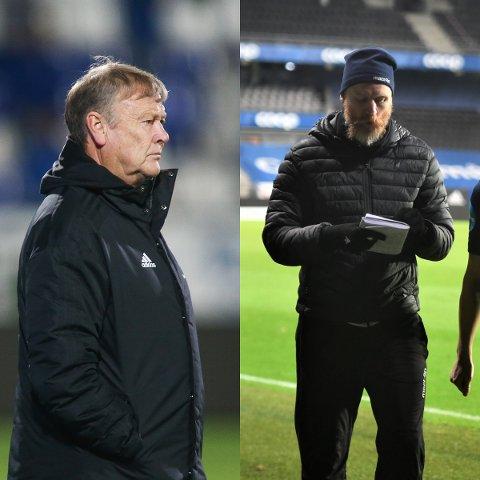 """IMPONERT: Åge Hareide """"toppet"""" RBK-2 laget som møtte LFK tirsdag kveld. RBK-treneren lot seg imponere av den defensive innsatsen til Per Verner Rønnings gutter."""