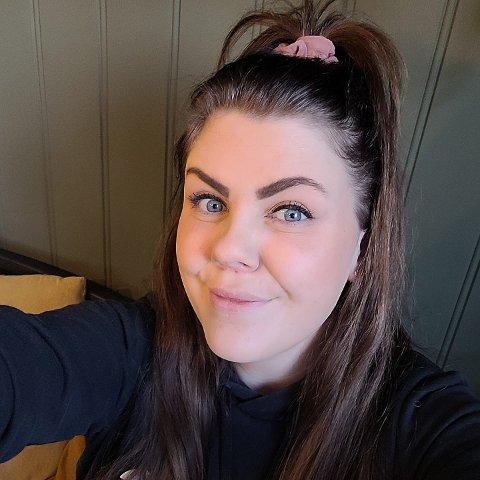 SPØK: – Jeg er ikke så nærtakende så det går ganske greit, men det kunne jo vært noen som synes det var litt mer tussi, forteller Ida Stene (29) fra Steinkjer.