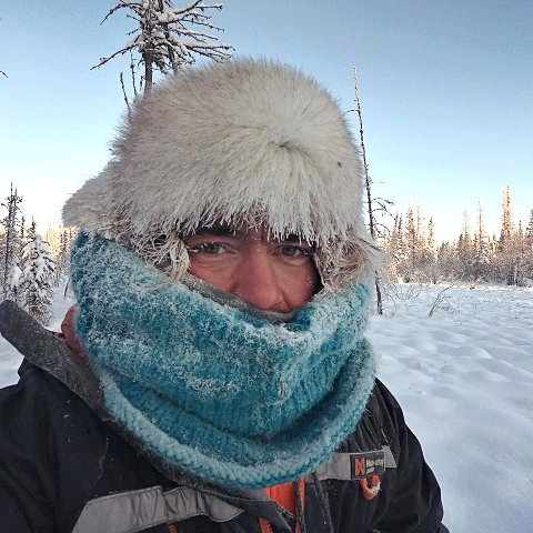 KALDT I CANADA: Eventyreren Jens Kvernmo mener det sjelden blir for kaldt i Norge til å nyte friluftslivet. I Canada derimot, opplevde Kvernmo temperaturer ned mot 50 kuldegrader. Da skjedde det noe med kroppen.
