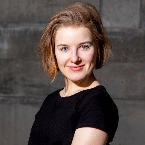 DRAMATIKER: Daria Glenter fra Frosta er en av fem nordiske dramatikere som får oversatt og lest hvert sitt stykke på teaterfestivalen New Nordic Voices i London i slutten av mars.