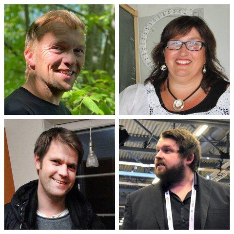 Torje Munkeby, Britt Tønne Haugan, Håvard Kvernbråten og Adrian Lyng Malmo er blant søkerne på stillingen som rektor ved Halsan skole.