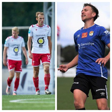 DOBBEL SKUFFELSE: Hverken Arne Gunnes (t.v) eller Marius Augdal fikk se sitt lag ta seg videre til 3. runde i cupen.