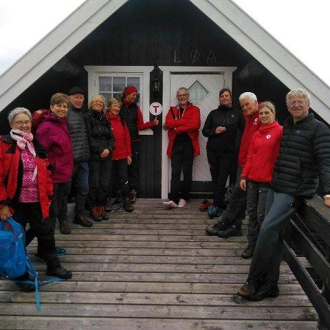 Ny hytte: Tyrishølt ligger langs Stølsruta, nord for Tisleifjorden.