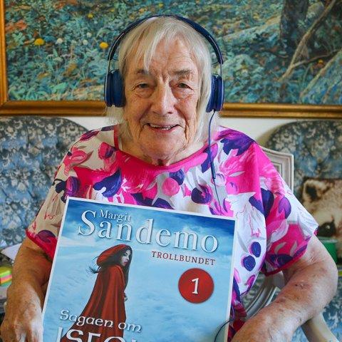 Margit Sandemos serie om Isfolket er nå tilgjengelig som lydbøker.