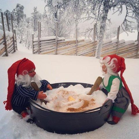 GOD JUL til alle mine IG venner _ #norway2day #norway_photolovers #eastnorway2day #visitvaldres #igmw_alltags #lory_norway #ig_week_scandinavia #fotocatchers #country_features #look_norway #loves_scandinavia #loves_norway #bestcaptureglobal #nissegrøt #bestofnorwegiannature #bonn_julen2018 #godjul #shots_r_stars #julivaldres @avisavaldres #total_dof