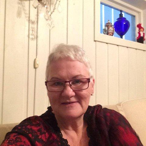 Ingeborg Kjørlien bor rett under raset. Foto:Privat