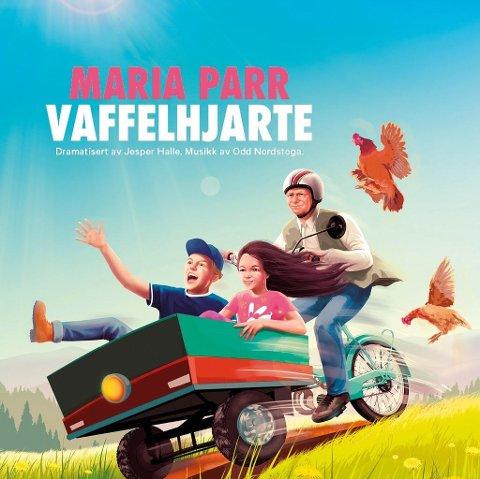 Til Fagernes: 2. februar spiller Riksteateret forestillinga Vaffelhjarte i kulturhuset på Fagernes.