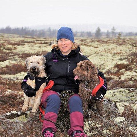 Dyreliv: - Det er mange dyrearter som er helt avhengig av at vi lar de gjenværende uberørte områdene være i fred slik at de fortsatt kan ha gode levevilkår i åsen, mener grunneier Trude Nytrøen Pedersen.