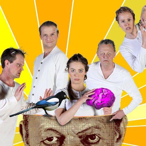 Hyller kreativiteten: Med nyproduksjonen «Skjæra tå seg hue» hyller Teater Innlandet kreativiteten, inspirert av Kjell Aukrust, som ville ha fylt hundre år i år.