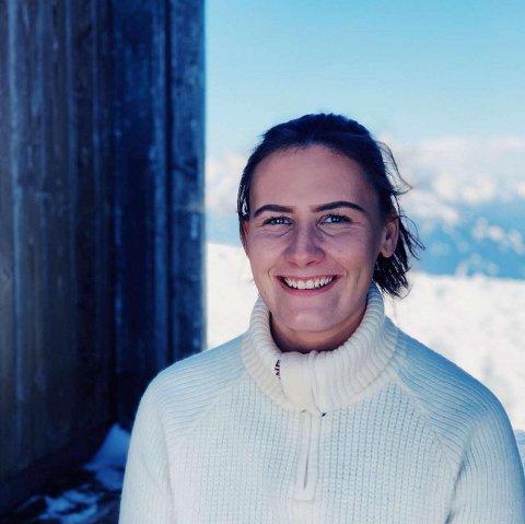 FLYTTET HJEM: Ingrid Hambro Haugland har flyttet tilbake til Valdres etter studier i Bergen.