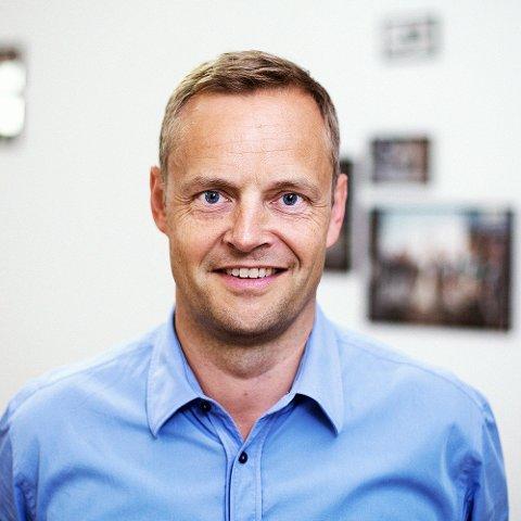 ØKER OG ØKER: - Vi har aldri opplevd en så stor interesse for selskapet vårt tidligere, sier adm.dir. Fredrik Abildtrup.