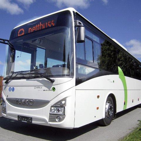 BONUS: Nettbuss og sjåførene får bonuslønn for godt arbeid.