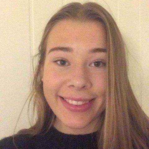 NTG: Anna Heggen (17) går på NTG Kongsvinger