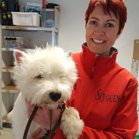 FLYTTER: Ann-Karin Skyggen Lystad starter opp Skyggen hundespa og trening på Gran i midten av juli.