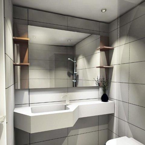 BAD: 120 rom på Scandic Hamar får nye bad.