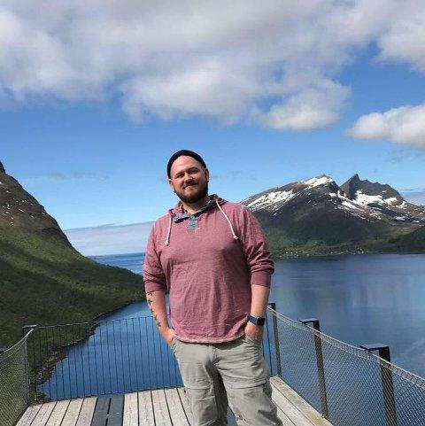 SJEF: Sten Hansson fra Senja er reiselivssjef i Hammerfest Turist AS.