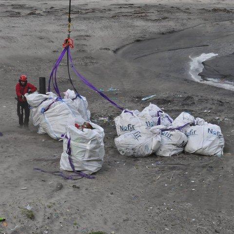 Marint søppel: Eksempler på marint søppel som er samlet opp i regi av Nofir, som OSPAR-prosjektet skal samarbeide med.