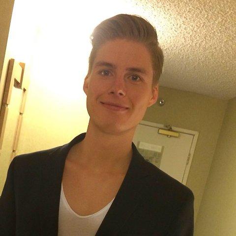 TRANSOCEAN: Joakim Nygård Pedersen (29) var nær med å gi opp jobbjakten, helt til han fikk telefonen fra et rekrutteringsbyrå.