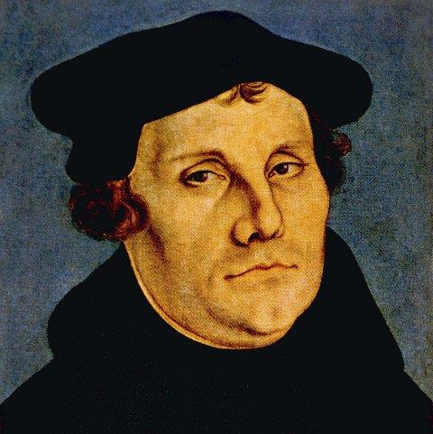 BLE FREDLØS: Martin Luther (1483–1546) utløste reformasjonen for 500 år siden.