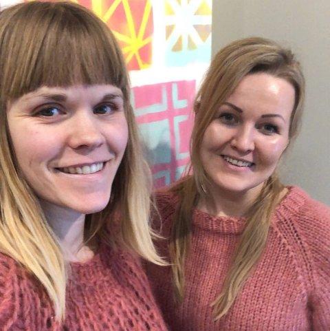 Klare for kurs: Siri Antonsen-Aartun (til venstre) og Maiken Gjelseth Mortensen ønsker å gi av sin kunnskap og lære andre om gode valg for en ren og sunn livsstil.