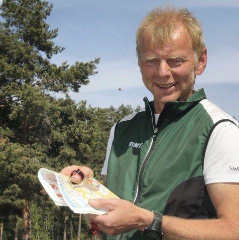 MEKANISK HJERTEKLAFF: Stokkes Bjørnar Olsrød er rask i skogen, og lar seg ikke stoppe av en medfødt hjertefeil.