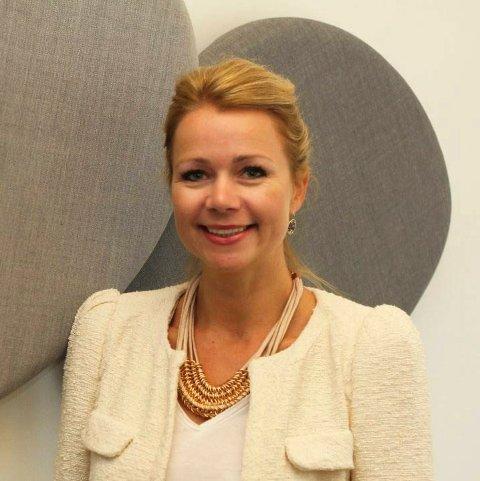 Ti på topp i Båstad: To kvinner er blant de ti i Båstad med høyest inntekt i fjor. Christine Aannerud (bildet) og Åse Marie Storsand.