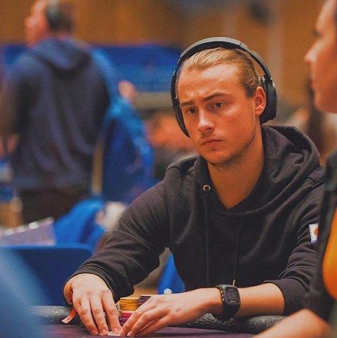 NM: Endre Vigdal Øren vann 110.000 kroner i poker NM i helga.