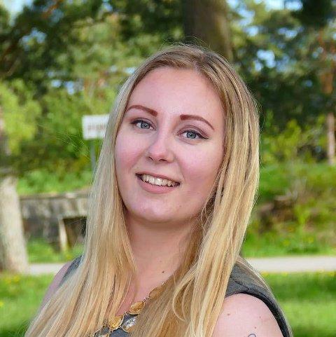 Silje Flaten Haugli fra Tvedestrand har fullt fokus på nest års valg.