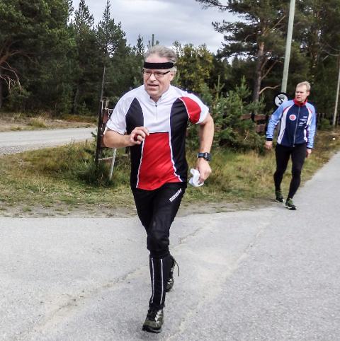 AKTIV: Petter Gullikstad er både aktiv utøver og engasjert administrator.
