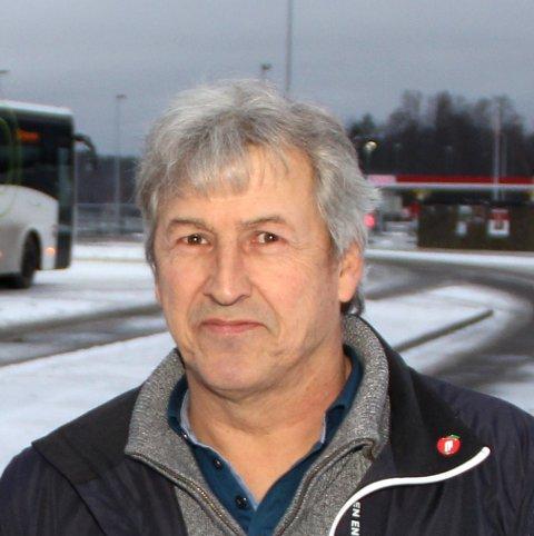 LEDER: Ragnar Martinsen.