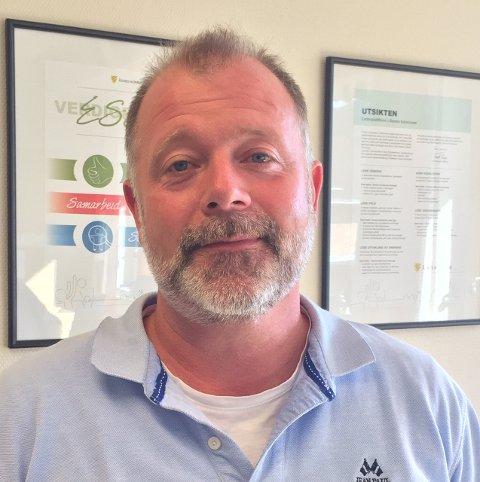 NY: Geir Framaas går fra jobben som rektor ved Vålbyen skole til å lede PP-tjenesten i Åsnes og Grue gjennom en endringsprosess.
