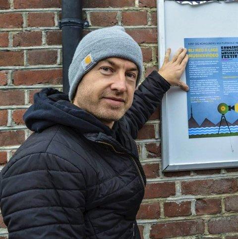 FRA KONGSBERG: Redigerer på NRK-Tv-serien er Kongsberg-mannen Jørn Stenersen.