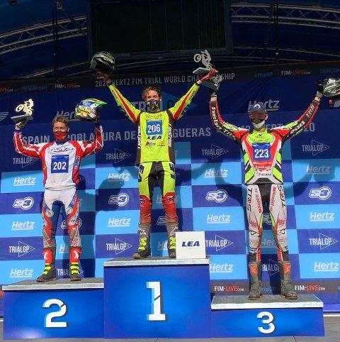 Sondre Haga ble i helgen historisk med sin tredjeplass.