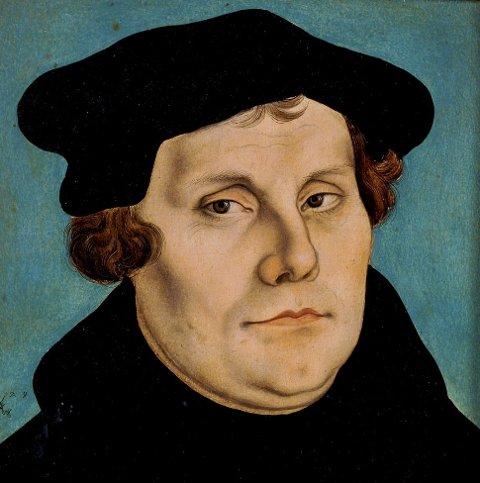 SAMMENHENG?: Er det sammenheng mellom Martin Luther, reformasjonen og stortingsvalget, spør innsenderne. Ja, lyder svaret.