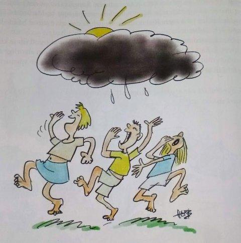 Glimt frå tørkesommar`n 1947