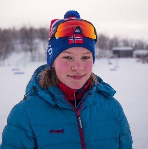 TALENT: Selma Stubnova Staalesen er et stort skitalent som gjør at skiidretten ser lys ut.