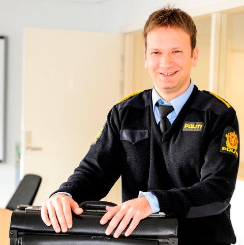 Leif Ove Mikkelsen er ny leiar for Arbeidarpartiet i Kvinnherad. Bildet blei tatt då han jobba som politiadvokat. (Arkivfoto).