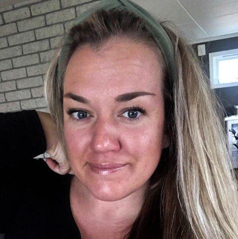 BEKYMRET: Stine Kanten innrømmer at hun er bekymret, etter at hun fikk vaksinen av typen AstraZeneca for snart to uker siden.