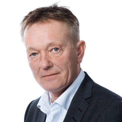 STENGER: Informasjonssjef i Hafslund Nett informerer om at 60 husstander i Sarpsborg kan få strømmen stengt.
