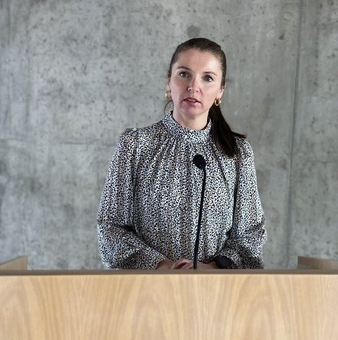 Få søkere: Kommunedirektør i Åmli, Christina Ødegård, har ikke så mange søkere å velge mellom når hun skal ansette ny lege til Åmli legekontor.Foto: Arkiv