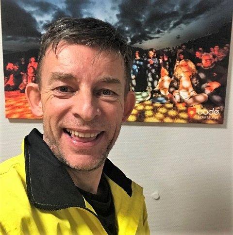 Kronikkforfatter Torbjørn Solberg, sykepleier og virksomhetsleder i Bodø kommune